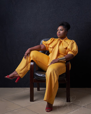 Lydia Forson dazzles in yellow