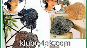 Elegantes sombreros de dama al crochet