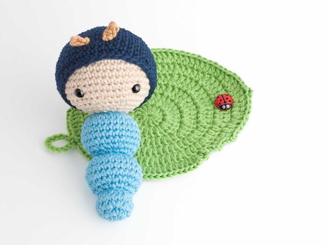 amigurumi-gusano-bug-caterpillar-hoja-leaf
