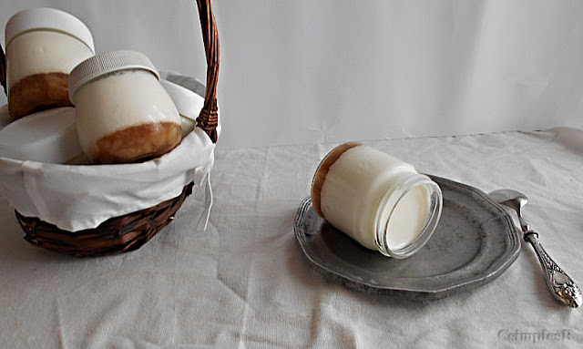 receita de iogurte caseiro de pera e canela