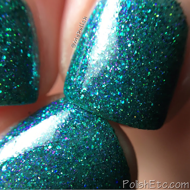 Ellagee - Three Years of Sparkle Collection - McPolish - Teal the Fat Lady Sings