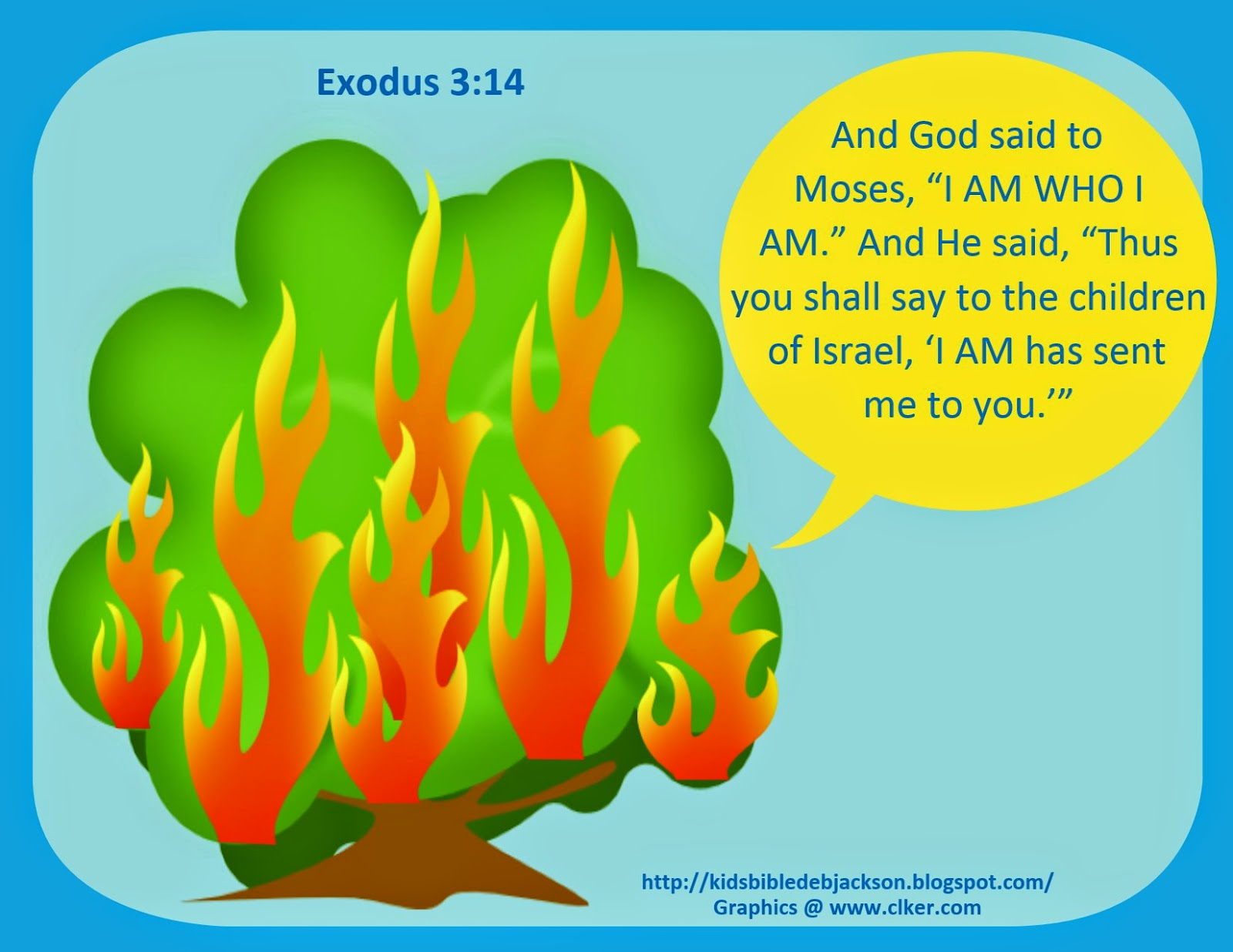 Bible Fun For Kids: Moses: Burning Bush