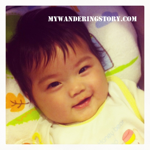 Happy 1 Month Old Baby Girl Quotes: The Wanderer's Journal: Baby Milestones At 4 Months Old