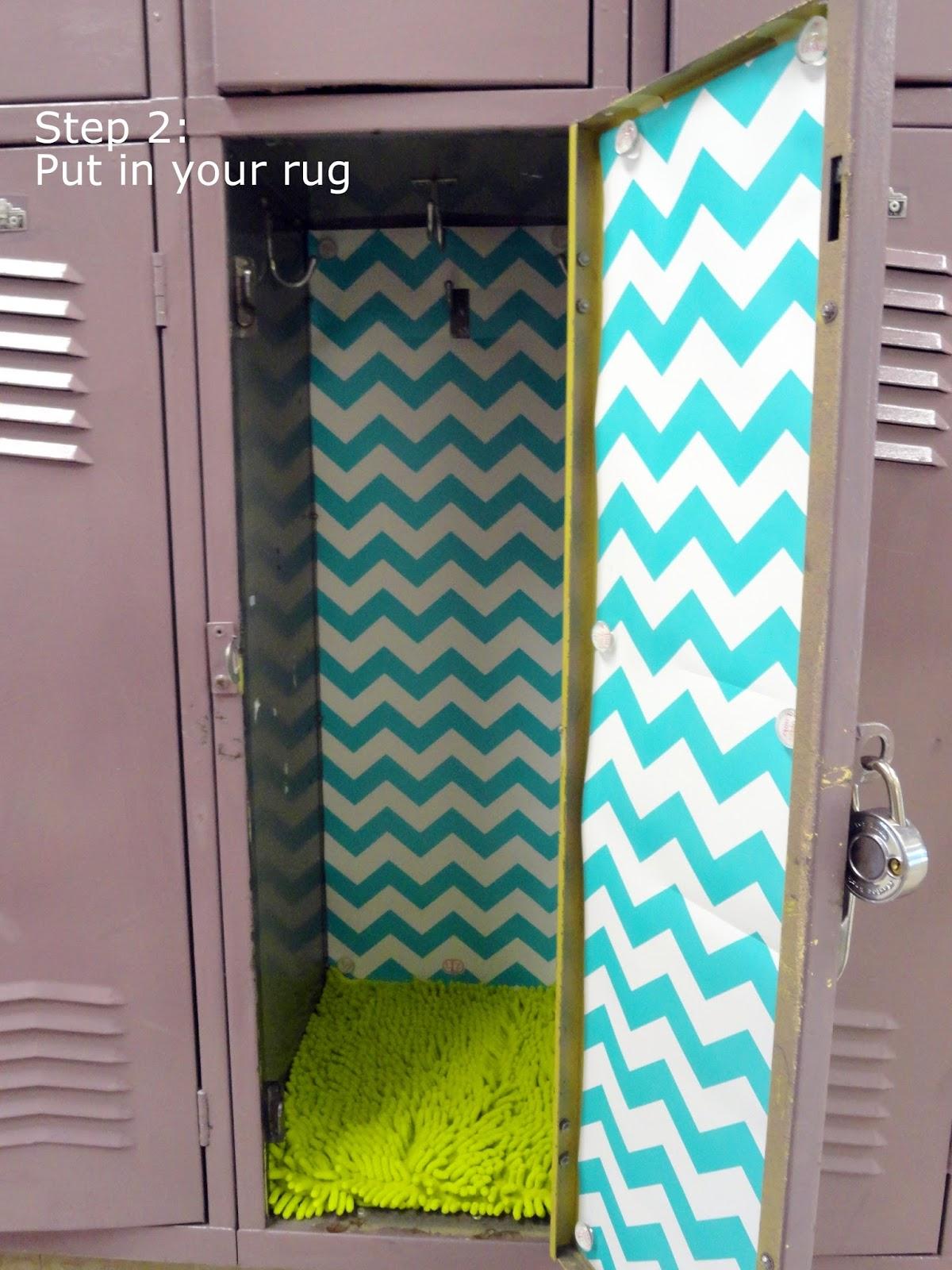 5 simple steps to decorating a fabulous locker with Locker Lookz - Rachel Teodoro