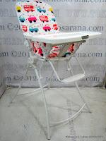 2 BabyDoes Jetem Caesar High Chair