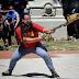 """El manifestante """"lanza-bombas"""" fue precandidato a diputado"""