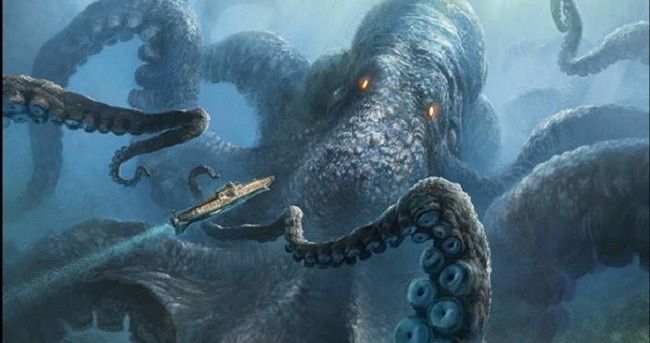 Υπάρχει το Κράκεν; - Το Μυθικό τέρας των θαλασσών