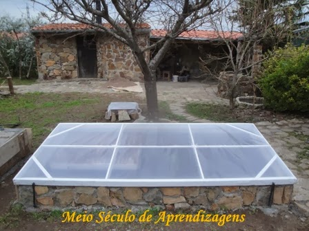 Mini estufa solar
