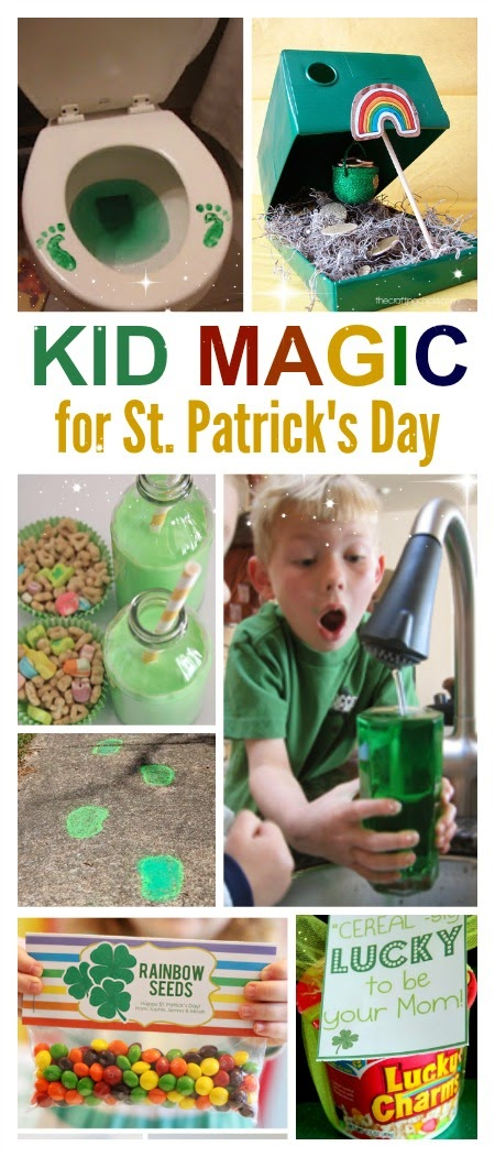 10 SUPER FUN WAYS to make St. Patrick's Day magical for kids- I love these ideas! #stpatricksday #kidsactivities #stpatricksdayactivities