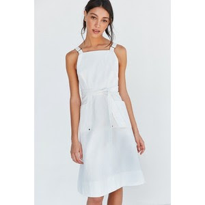 Silence + Noise Jaysee denim apron midi dress, $89 from Urban Outfitters