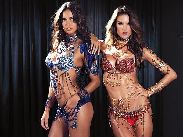 cd77211959d Fashion Is My Drug  Victoria s Secret Fantasy Bra 2014 - Adriana ...
