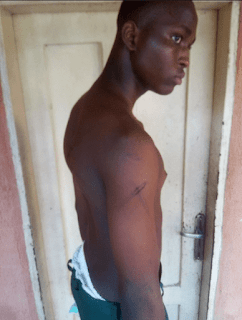 Soldiers  brutalised student