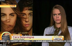 The most embarrassing interview: Cara Delevingne tired and ridiculed tv anchors