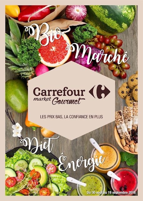 catalogue carrefour gourmet aout septembre rentree 2018