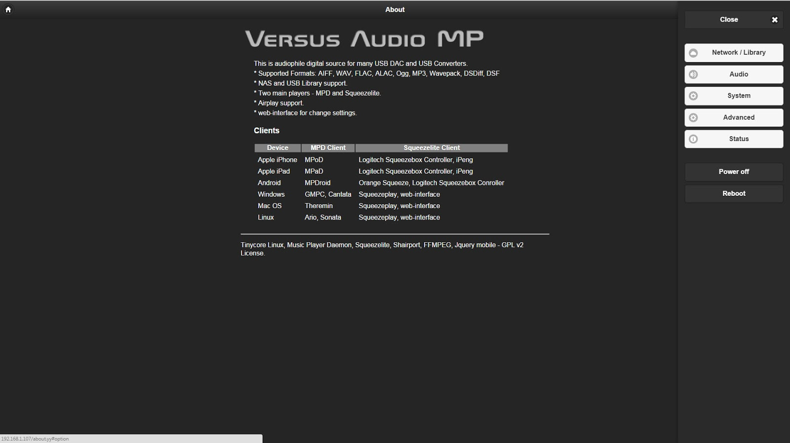 Mono and Stereo High-End Audio Magazine: Versus Audio Music Player NEW