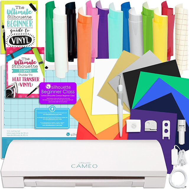best silhouette cameo 3 bundle, best silhouette cameo bundle beginner, vinyl bundle beginner,  heat transfer vinyl bundle