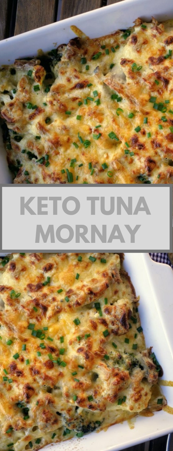 Keto Tuna Mornay