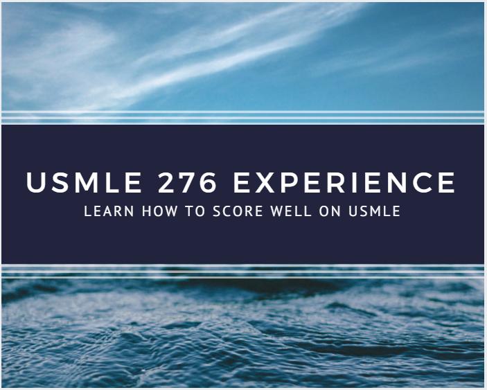 USMLE Experiences, Tips & Motivation!: USMLE Step 1