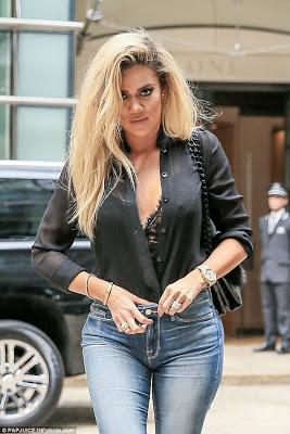 Khloe Kardashian flaunts huge diamond ring on her wedding finger