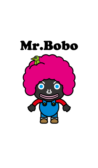 Afro hair Mr.Bobo