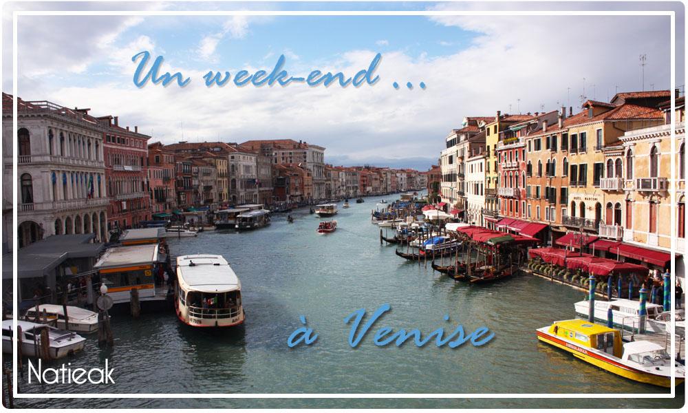 week end à Venise en amoureux