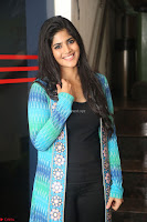 Megha Akash in a beautiful Anarkali dress with Long Jacket at LIE success meet ~  Exclusive Celebrities Galleries 040.JPG