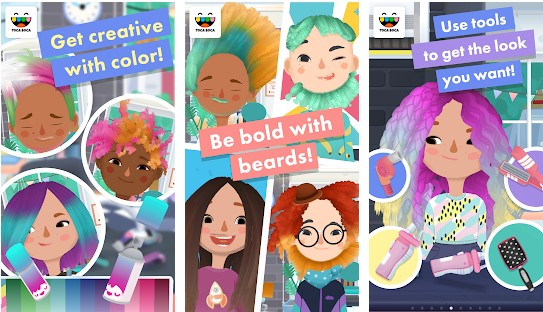 Toca Hair Salon 3 Apk Mod Full Game Unlock Download Myappsmall Provide Online Download Android Apk And Games