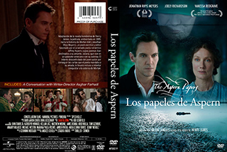 The Aspern Papers - Los papeles de Aspern - Cover - DVD