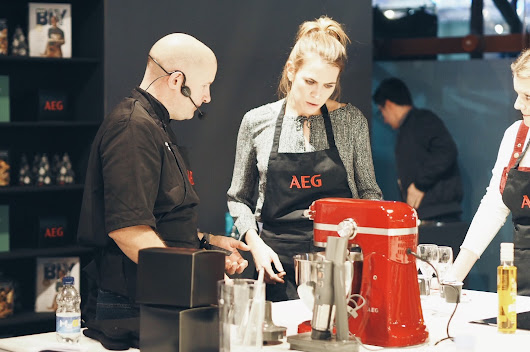 GET BAKING AT TASTE OF LONDON WITH AEG