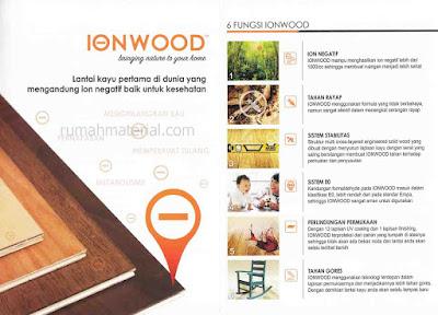 Lantai kayu IONWOOD
