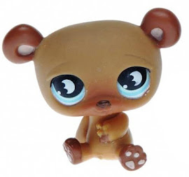 Littlest Pet Shop Pet Pairs Bear (#813) Pet