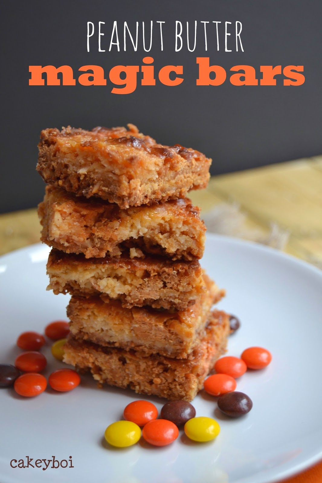 peanut butter flavour bars with coconut