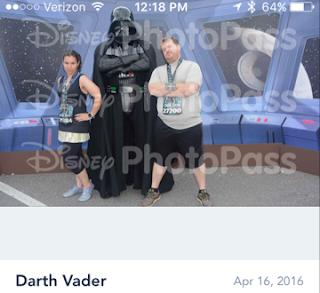 Star Wars 10k running with Darth Vader