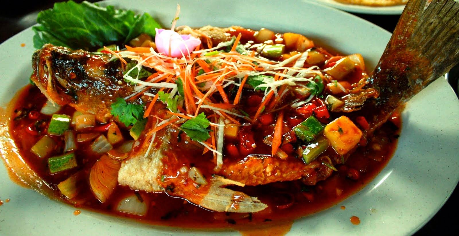 Ikan Masak Tiga Rasa Ala Thai | Resepi Masakan Malaysia
