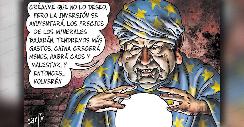 Carlincaturas Sábado 26 Enero 2019 - La República