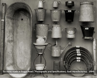Tin items made at Boggo Road Gaol, Brisbane, c.1904.