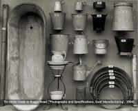 Tin items made at Boggo Road Gaol, Brisbane, c.1904.