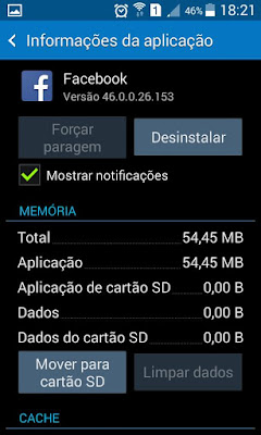 Mover Aplicações Memoria SD Android