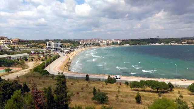 gelibolu hamzakoy sahil yolu
