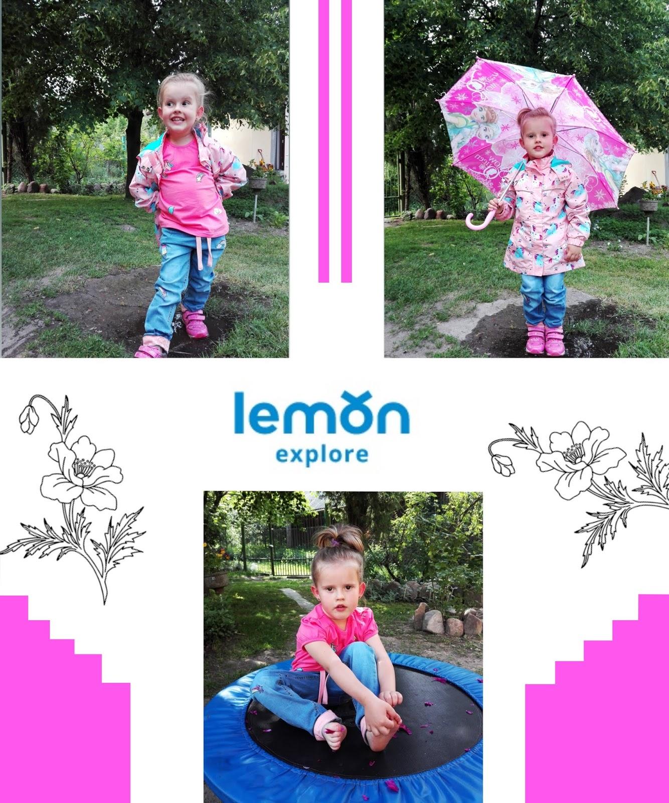 Wiosenna stylizacja dziecięca ze sklepu Lemon Explore - Bo maluchy też chcą być modne!