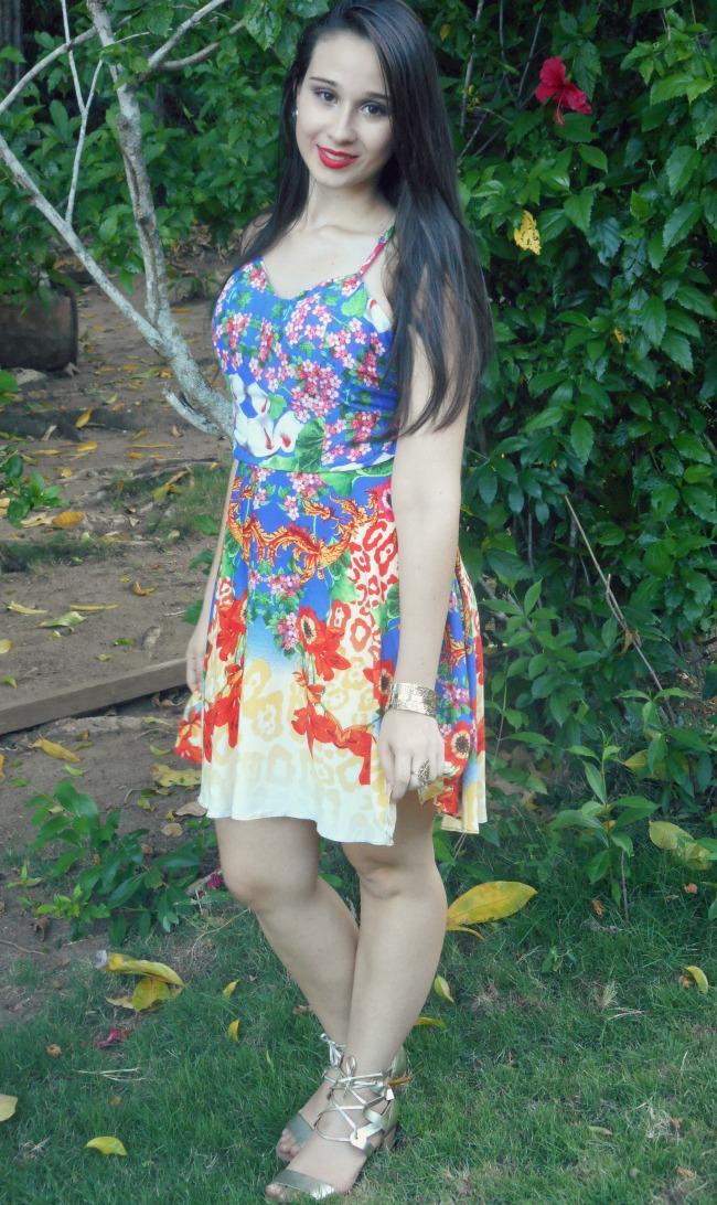vestidoflorido-vestidocurto-vestidoestampado-lookverão