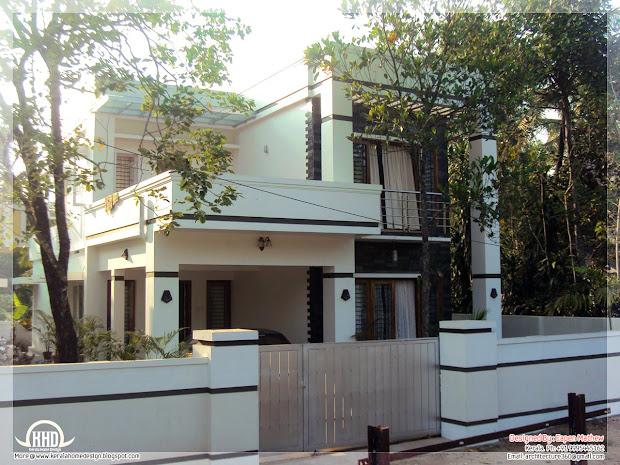 Beautiful Villa Elevations - Kerala Home Design And