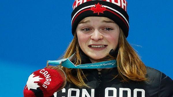 Medallista olímpica canadiense recibe amenazas de muerte