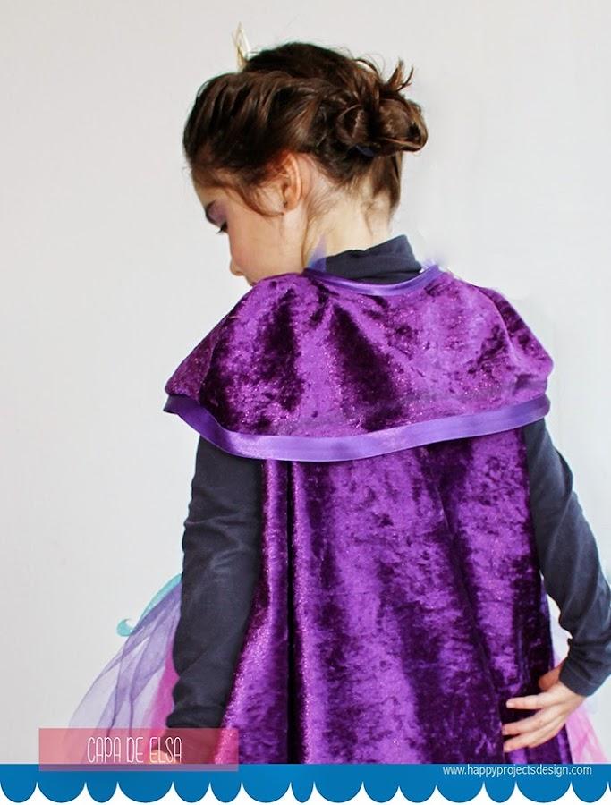 DIY Capa Elsa Coronation Day