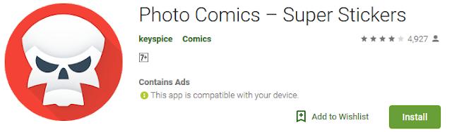 Download  5 Aplikasi  Android Untuk Mengubah Foto Wajah Anda ke Cartoon  4