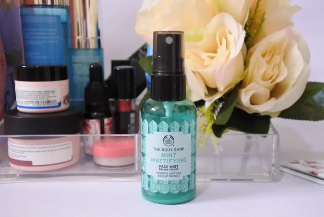 The Body Shop Face Mist - Mint Mattifying