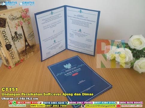 Undangan Pernikahan Softcover Ajeng Dan Dimas