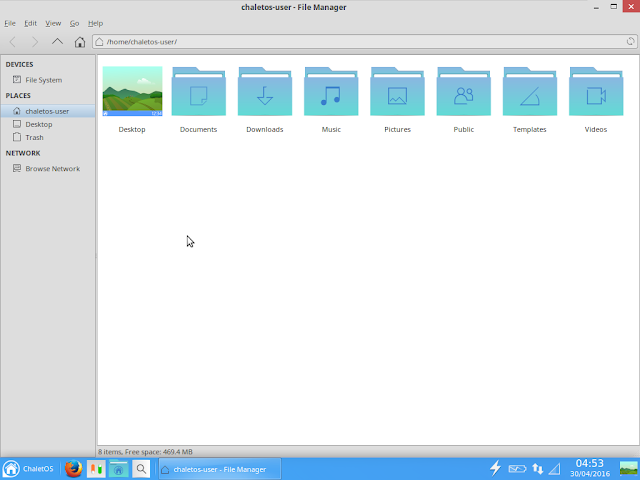 Tunar file manager