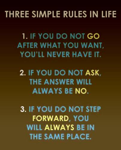 Simple Rules of LIfe