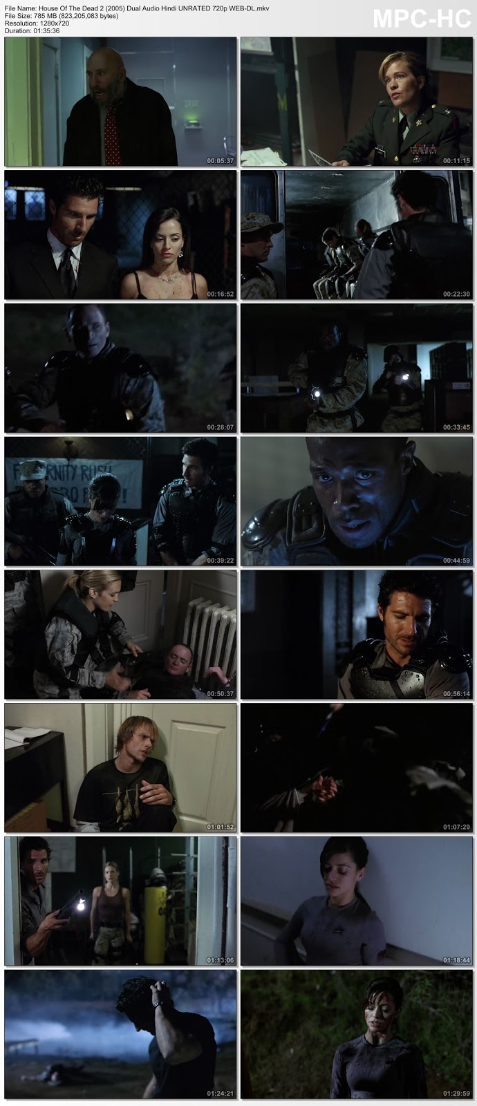 House Of The Dead 2 (2005) Dual Audio Hindi UNRATED 720p WEB-DL 750MB Desirehub